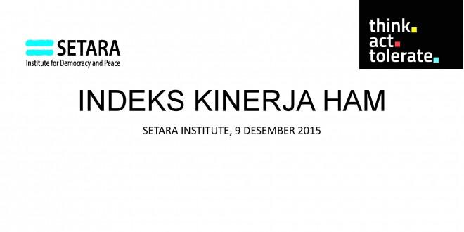 (Bahasa Indonesia) Indeks Kinerja HAM 2015