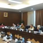 Pertemuan Dewan Pertimbangan Presiden dengan Setara Institute dan sejumlah keluarga korban pelanggaran HAM berat di Gedung Wantimpres, Veteran, Jakarta Pusat, Selasa (28/3/2016)