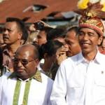 Kunjungan PResiden Jokowi ke Papua Sumber : Tempo.com