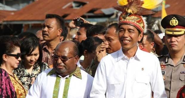 Papua di bawah Kepemimpinan Jokowi