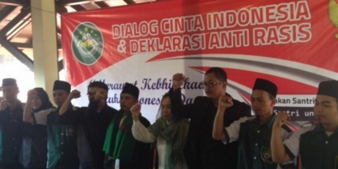 NATIONAL YOUTH PLEDGE DAY SEES DECLARATION OF TOLERANCE IN