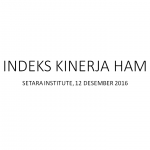 Presentasi Indek HAM 2016