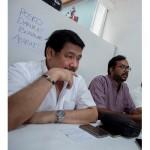 Hendardi dan Haris Azhar. Foto: Antara