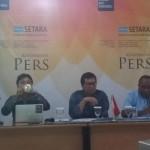 Setara dan tokoh Papua gelar jumpa pers bersama Foto: (Hary Lukita Wardani/detikcom)