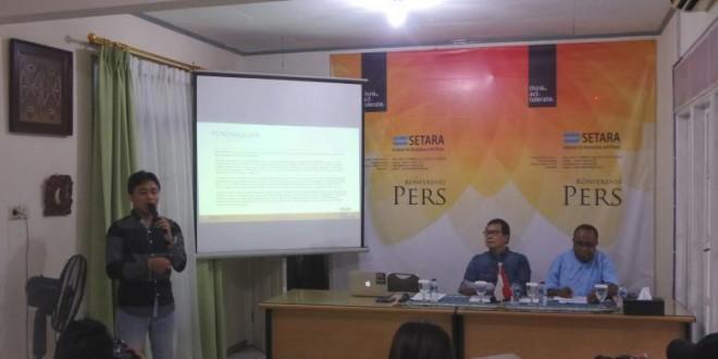 (Bahasa Indonesia) Setara Institute: Pada 2016, Terjadi 107 Pelanggaran HAM di Papua oleh Aparat