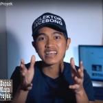 Salah satu bagian dari vlog Kaesang di Youtube episode Bapak Minta Proyek.(kompas/YOUTUBE).