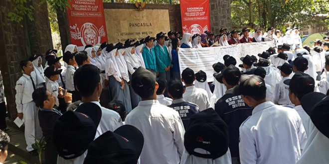 Yogyakarta Students Speak Up Against Intolerance