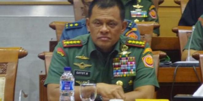 Pernyataan Panglima TNI Gatot Nurmantyo Langgar UU 34/2004