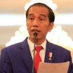 Presiden Jokowi saat memberikan keterangan pers terkait perkembangan situasi di Rakhine State, Myanmar, 3 September 2017. Presiden mengecam segala bentuk kekerasan etnis di Myanmar.  Foto: TEMPO/Subekti.