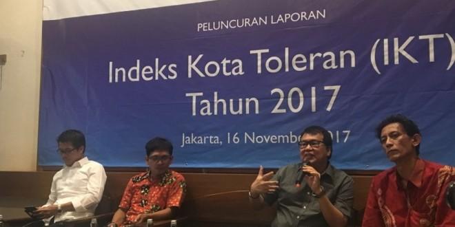 (Bahasa Indonesia) INDEKS KOTA TOLERAN TAHUN 2017