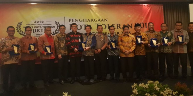 SETARA Institute: Singkawang, Kota Paling Toleran Se-Indonesia