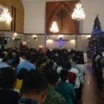 Ilustrasi pelaksanaan ibadah di rumah ibadah Gereja. (Foto: TRIBUNMEDAN/SATIA)
