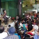 Direktur Riset SETARA Institute, Halili memaparkan materinya dalam Diskusi Media: Wacana Gerakan Keagamaan di 10 Universitas Negeri yang diselenggarakan oleh SETARA Institute, Jumat (31/5/2019) di Jakarta.