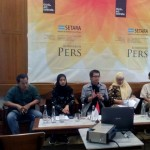 SETARA Institute tengah menyelenggarakan launching indeks kinerja HAM selama periode pertama Jokowi di Jakarta (10/12/2019). Foto: SETARA Institute.