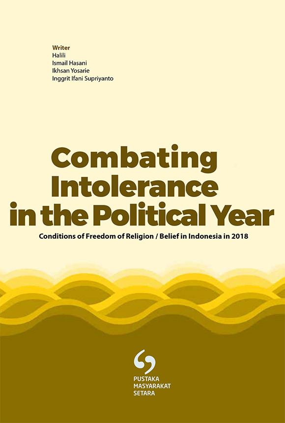 COMBATING INTOLERANCE IN THE POLITICAL YEAR