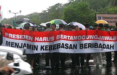 Indonesia affirms freedom of religion