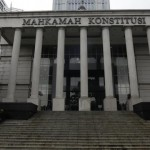 Gedung Mahkamah Konstitusi, Jakarta, Selasa (21/1).