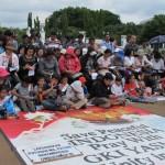 Para anggota jamaah GKI Yasmin (Bogor) dan HKBP Filadelphia (Bekasi) melakukan misa Natal bersama di depan istana Presiden di Jakarta (foto: dok). Bogor dan Bekasi termasuk dalam katagori kota yang sangat intoleran dalam Indeks yang dirilis Setara Institute.