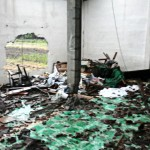 Intolerant act – An Ahmadi mosque in Purworejo village, Kendal regency, Central Java, is left in ruins. An unidentified mob attacked the mosque early Monday. (Courtesy of the Ahmadiyah central executive board/-)