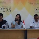 Konferensi pers Setara Institute tentang kinerja Mahkamah Konstitusi di Kantor Setara Institute, Kebayoran, Jakarta, Minggu (20/8/2017). Foto: KOMPAS.com/ABBA GABRILLIN.