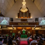 St. Paul's Church in Jakarta, Indonesia. About 90 percent of Indonesia's 260 million people are identified as Muslim, but the country has a small, influential Christian population. Credit Kemal Jufri for The New York Times