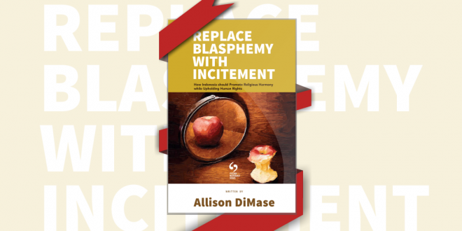 Replace Blasphemy With Incitement
