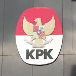 Logo Komisi Pemberantasan Korupsi di Gedung Baru KPK, Kuningan, Jakarta Selatan, Senin (22/2/2016). Foto: Kompas.com/abba gabrillin.