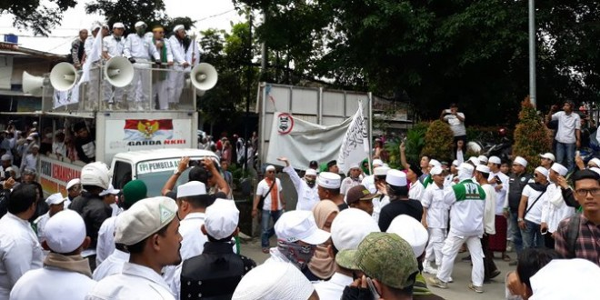Demo FPI atas TEMPO Intimidasi terhadap Pers