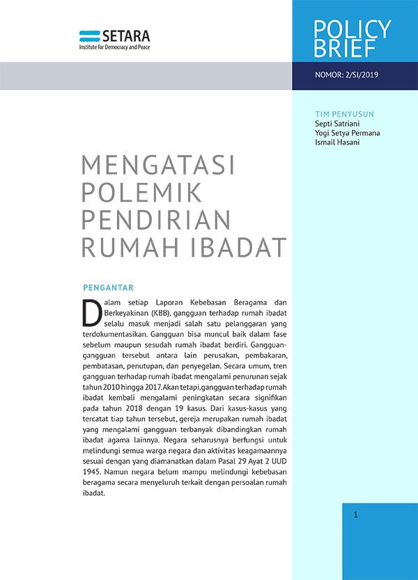 (Bahasa Indonesia) MENGATASI POLEMIK PENDIRIAN RUMAH IBADAT