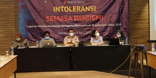 (Bahasa Indonesia) LAPORAN KONDISI KEBEBASAN BERAGAMA/BERKEYAKINAN DI INDONESIA TAHUN 2020